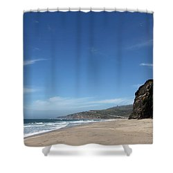 Scott Creek Beach California Usa Shower Curtain by Amanda Barcon