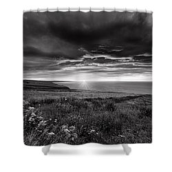 Scottish Sunrise Shower Curtain