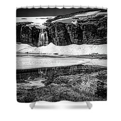 Shower Curtain featuring the photograph Seasonal Worker by Dmytro Korol