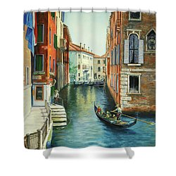 Sempre Ricordare -to Always Remember Shower Curtain