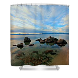 Serenity  Shower Curtain by Sean Sarsfield
