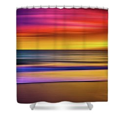 Series Mesmerizing Landscapes Shower Curtain