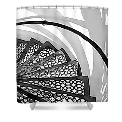 Shadow Lines Shower Curtain