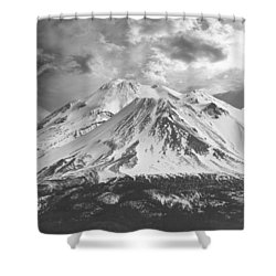 Shower Curtain featuring the photograph Shasta by Athala Carole Bruckner