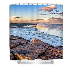 Shinnecock Inlet Surf Shower Curtain
