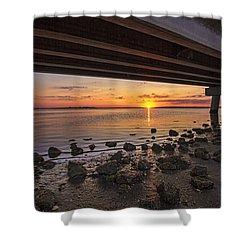 Shinnecock Sunset Shower Curtain