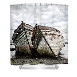 Shipwrecks Shower Curtain
