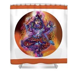 Shiva Dhyan Shower Curtain