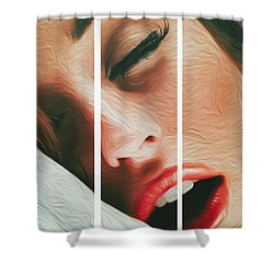 Side Kiss- Shower Curtain