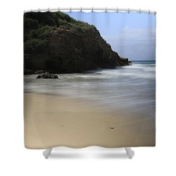 Silent. Shower Curtain by Shlomo Zangilevitch