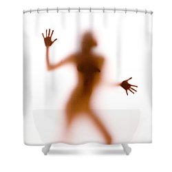 Silhouette 14 Shower Curtain