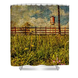 Siluria Cotton Mill Shower Curtain by Phillip Burrow