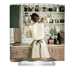 Shower Curtain featuring the photograph Simple Life 9 by Julie Palencia