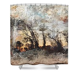 Sing To Me Autumn Shower Curtain