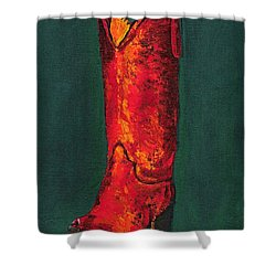 Singled Out Shower Curtain by Frances Marino
