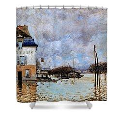 Sisley: Flood, 1876 Shower Curtain by Granger