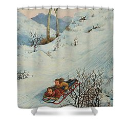 Sisters Solstice Shower Curtain