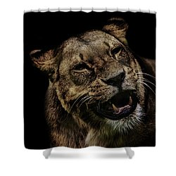 Orangutan Smile Shower Curtain