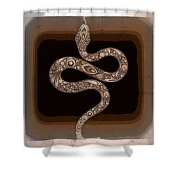 Snake Shower Curtain
