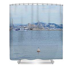 So Near And So Far Shower Curtain
