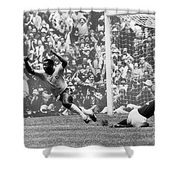 Soccer: World Cup, 1970 Shower Curtain by Granger
