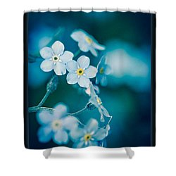 Soft Blue Shower Curtain