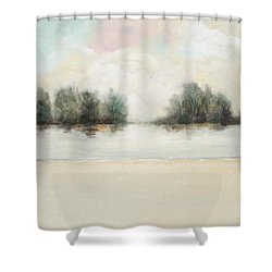 Soft Tumbleweed Shower Curtain