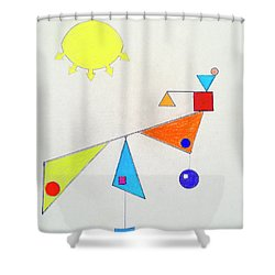 Something New Under The Sun Shower Curtain