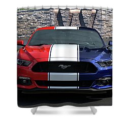 Special Edition 2016 Ford Mustang Shower Curtain