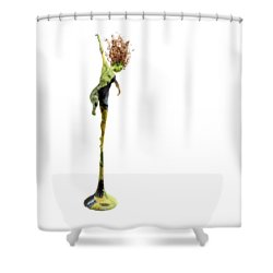 Spread Wings Shower Curtain by Adam Long