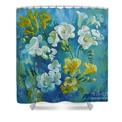 Spring Fragrances Shower Curtain