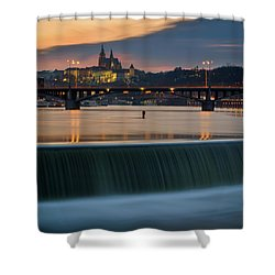 St. Vitus Cathedral, Prague, Czech Republic Shower Curtain