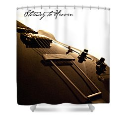 Stairway To Heaven Shower Curtain by Christopher Gaston