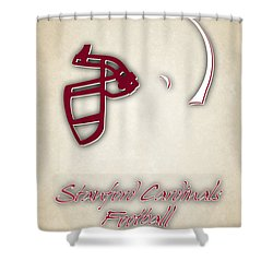 Stanford Cardinals Shower Curtain by Joe Hamilton