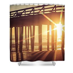 Shower Curtain featuring the photograph Star by Lora Lee Chapman