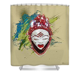Star Spirits - Maiden Spirit Mukudji Shower Curtain