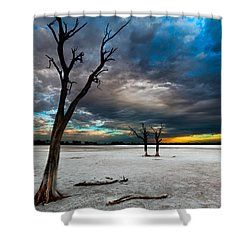 Still Here Shower Curtain