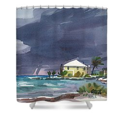 Storm Over Key West Shower Curtain