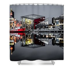 Stormy Night In Baltimore Shower Curtain