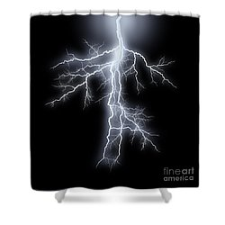 Streak Lightnings - Storm Shower Curtain