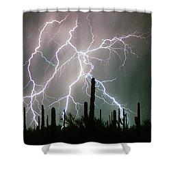 Striking Photography Shower Curtain