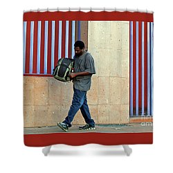 Shower Curtain featuring the photograph Stripes by Joe Jake Pratt