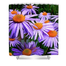 Shower Curtain featuring the painting Summer Dreaming by David Dehner