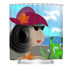 Summer,  I'm Ready Shower Curtain