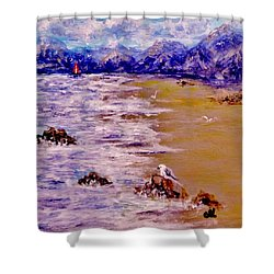 Summer Whispers.. Shower Curtain