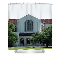Summerall Chapel Shower Curtain