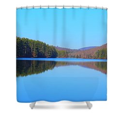 Shower Curtain featuring the photograph Summertime Blues by Jesse Ciazza