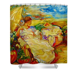 Sun Set Shower Curtain