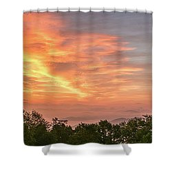 Sunrise July 22 2015 Shower Curtain