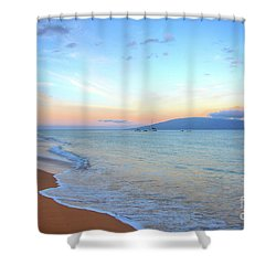 Sunrise On Kaanapali Shower Curtain